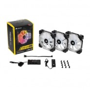Corsair AF120 Red LED Quiet Edition High Airflow 120mm Fan